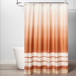 Other - Mesa Striped Cotton Shower Curtain - New